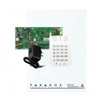 Paradox SP5500 - Small Cabinet - K10V Keypad - Plug Pack