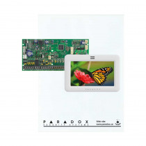 Paradox SP6000 - Small Cabinet - TM50 Touch-White