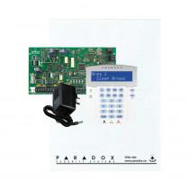 Paradox MG5050 - Small Cabinet - K32LCD Keypad - Plug Pack