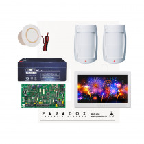 Paradox MG5050 PMD75 Kit with Small Cabinet and White TM70