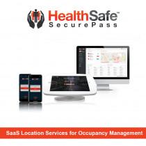 HealthSafe BluVision Bluzone SaaS Location Services for Occupancy Management