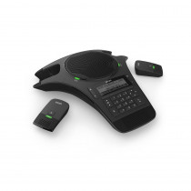 Snom C520 SIP Conference Phone with Two Wireless Mics