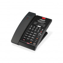 Vtech A2411 Cordless Hospitality Phone - Matte Black