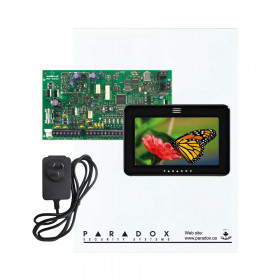 Paradox MG5050 with Small Cabinet & Black TM50 with Plug Pack