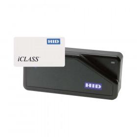 HID iCLASS ISO Card with Mag Swipe