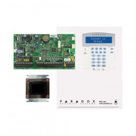 Paradox EVOHD with Small Cabinet & K641 LCD Keypad
