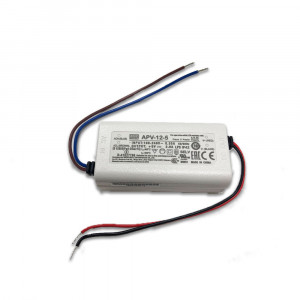 APV-12-5 Power Pack for K37- 5VDC - In-Line