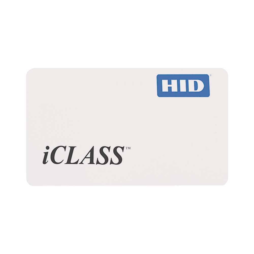 HID iCLASS ISO Card - Customer Selected (HID 2000)
