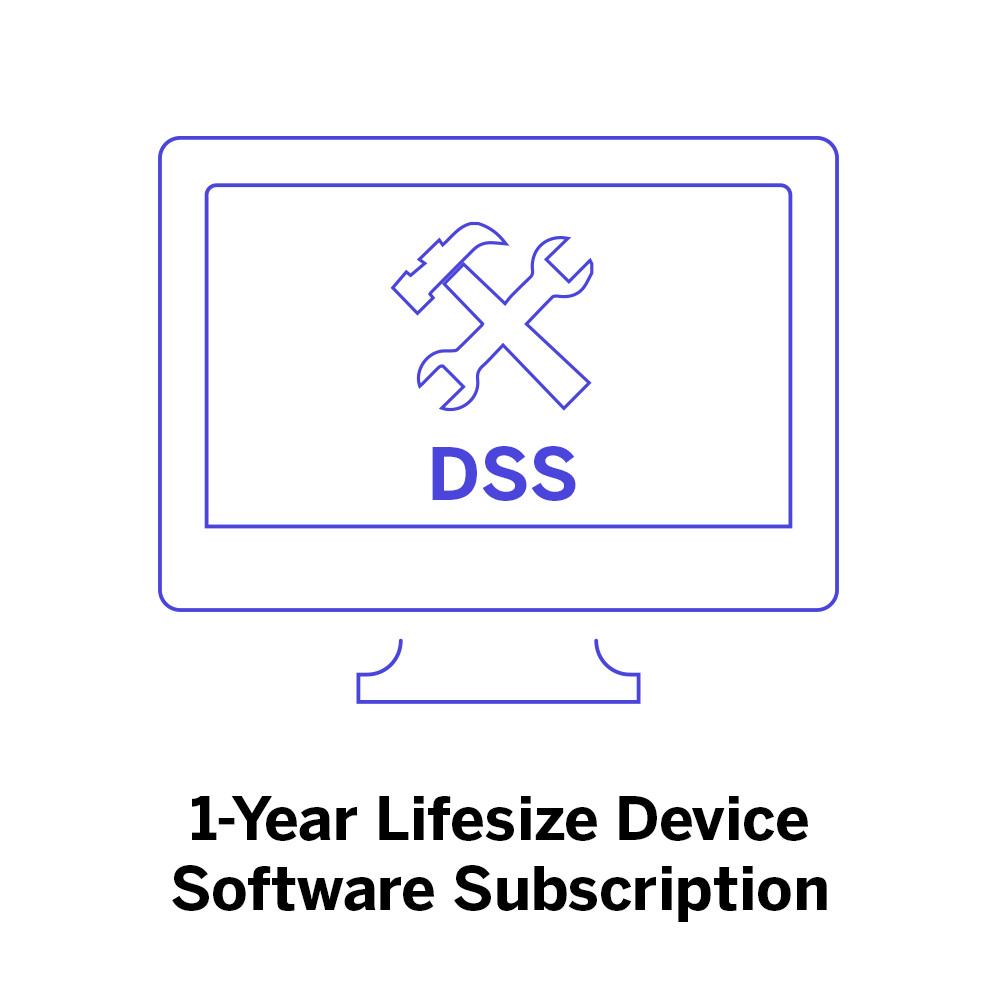 Lifesize Icon 700 - DSS - 1 Year Subscription