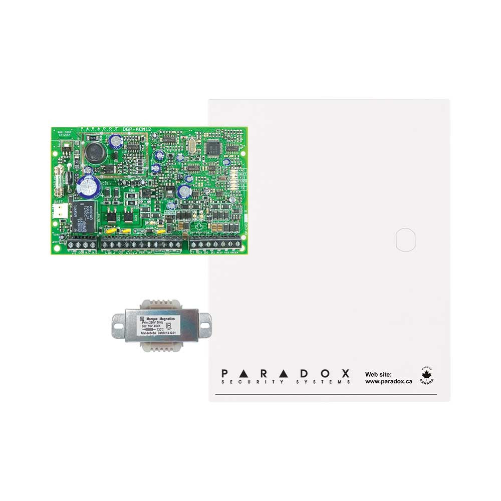 Paradox ACM12 Single Door Access Module with Small Cabinet & Transformer