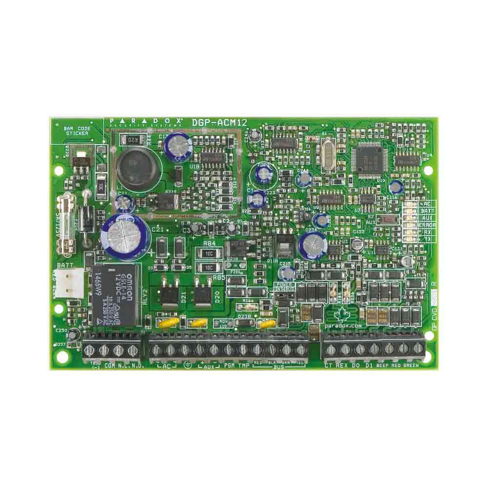 Paradox ACM12 Single Door Access Module - PCB only