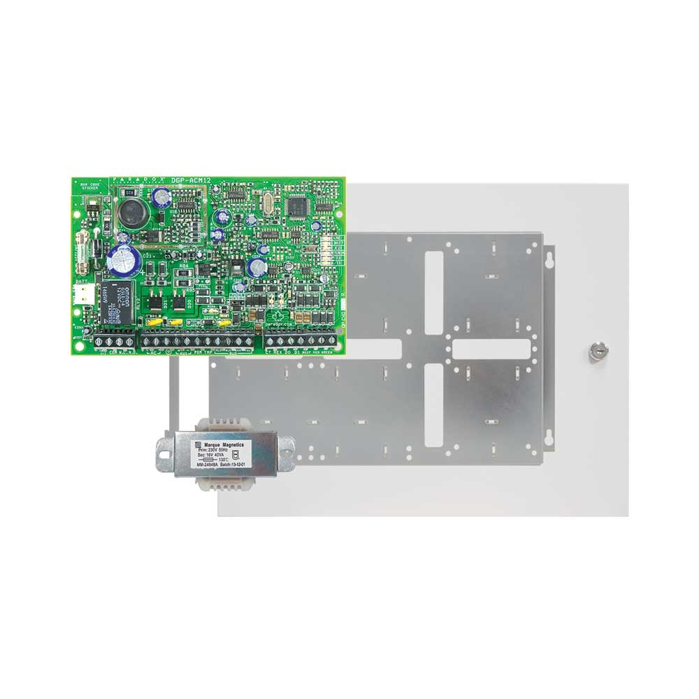 Paradox ACM12 Single Door Access Module with Standard Cabinet