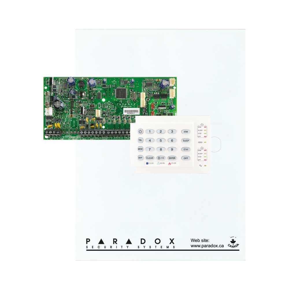Paradox SP5500 with Small Cabinet & K10H Keypad