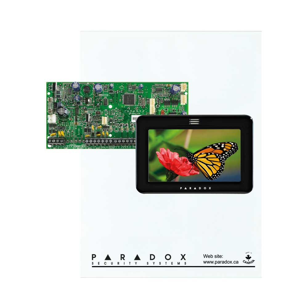 Paradox SP5500 with Small Cabinet & Black TM50