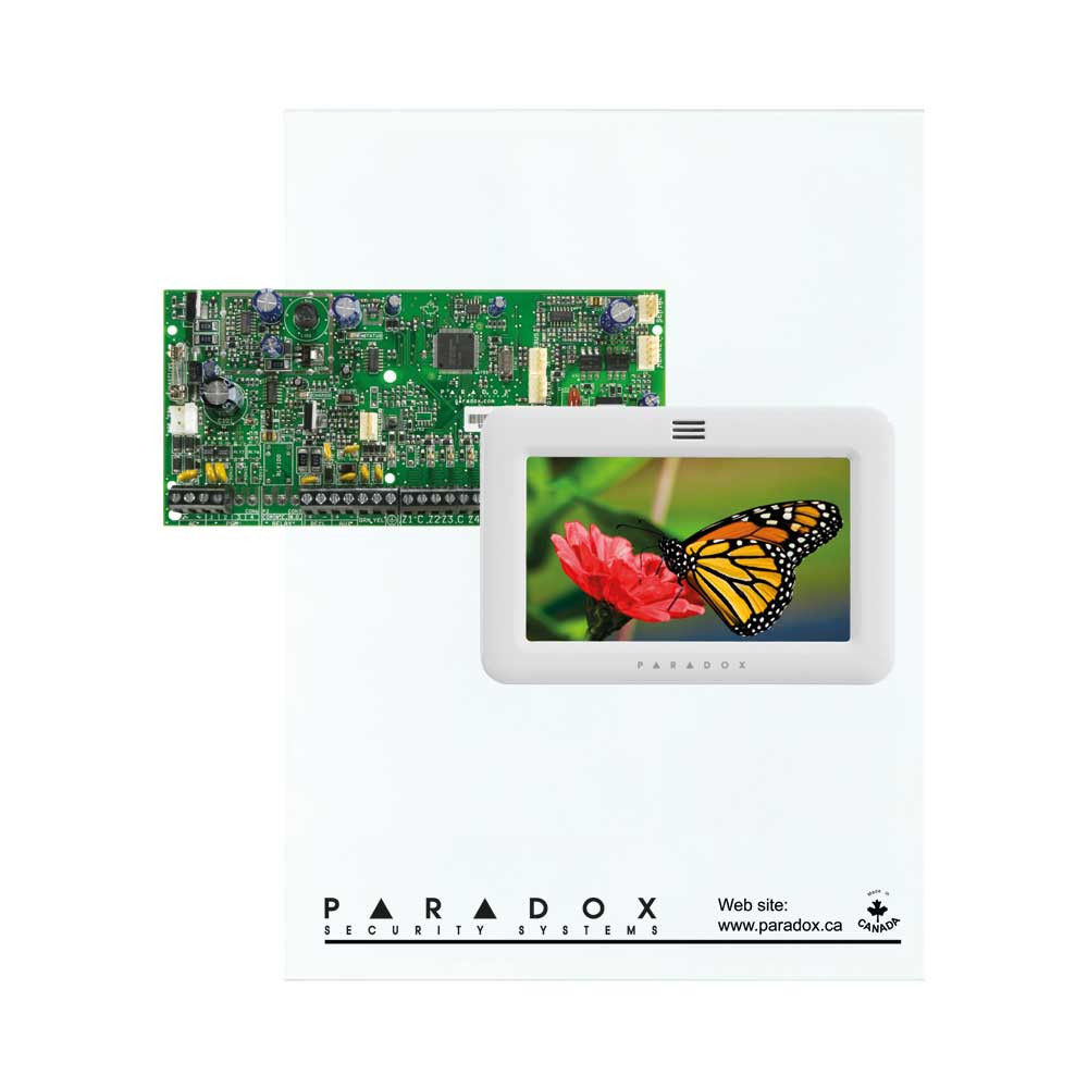 Paradox SP5500 with Small Cabinet & White TM50