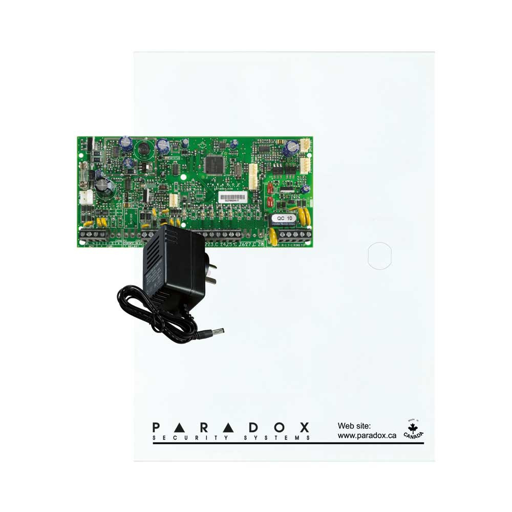Paradox SP5500 with Small Cabinet & Plug Pack
