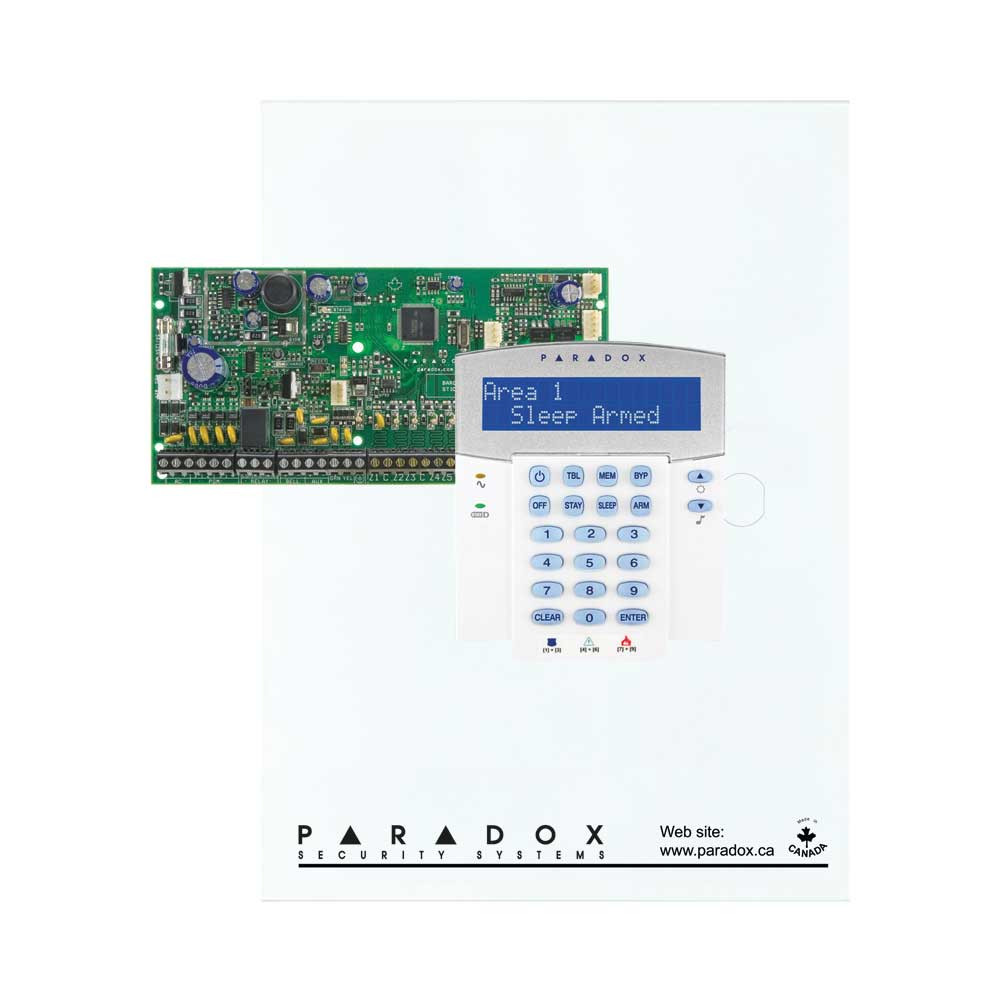 Paradox Sp6000 With Small Cabinet K10h Keypad Electronic Circuit K32lcd