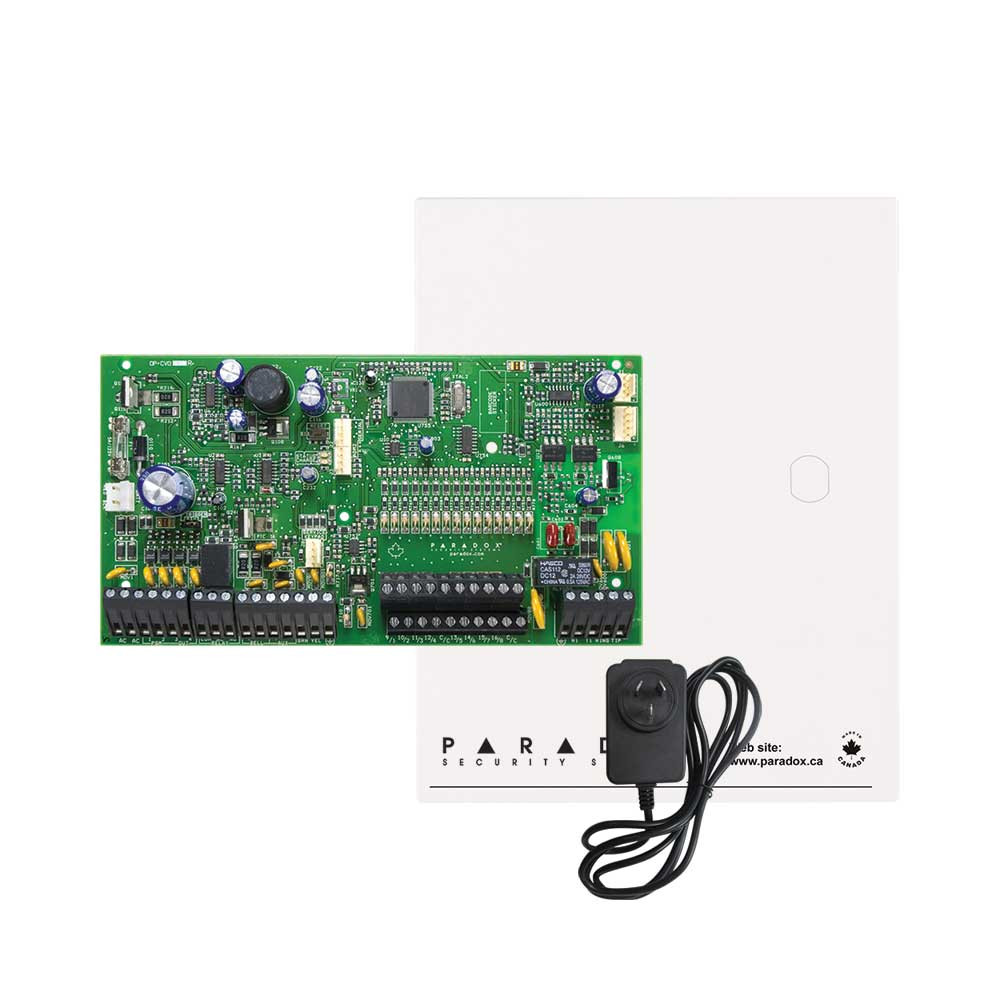 Paradox SP7000 Control Panel with Cabinet & Plug Pack
