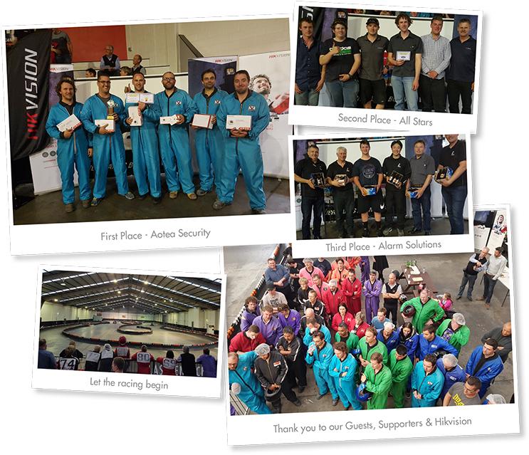 Flying 5000 Hikvision Go Karts 2016 - Winners