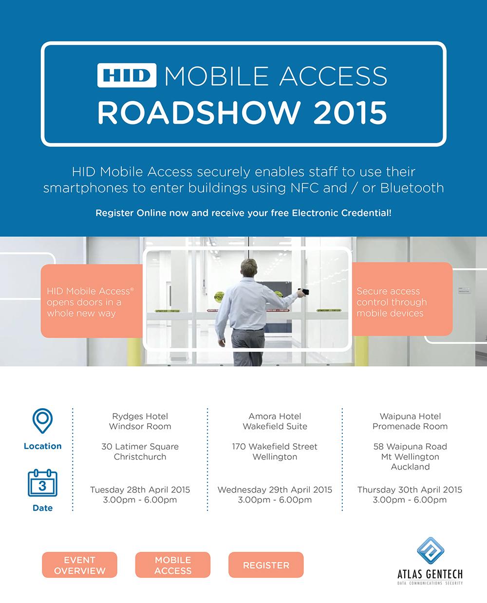 HID Mobile Access Roadshow