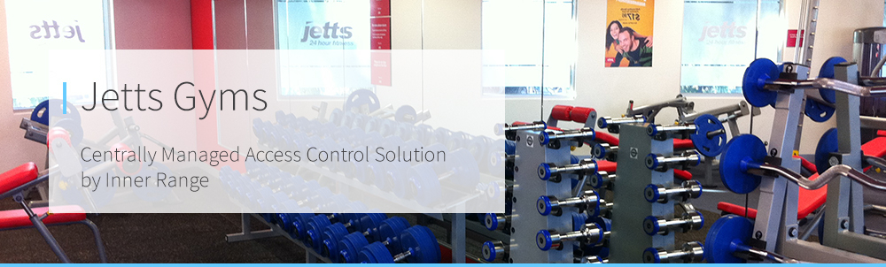 Centrally Managed Access Control Solution for Jetts Gym