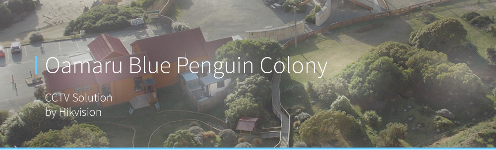 Oamaru Blue Penguin Colony Solutions Banner